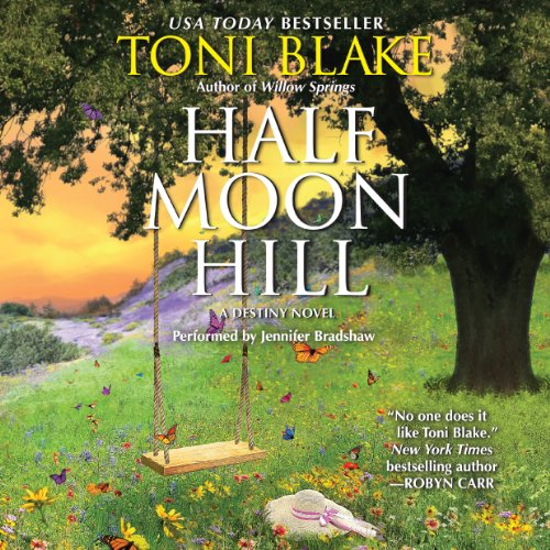 Half Moon Hill audiobook cover art