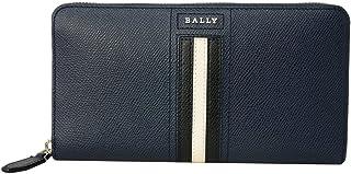 [バリー] BALLY バリー 長財布 6218051 TELEN. LT 17 ラウンドファスナー長財布 アコーディオン財布 ラウンドジップ NEW BLUE ダークネイビー系 [並行輸入品]