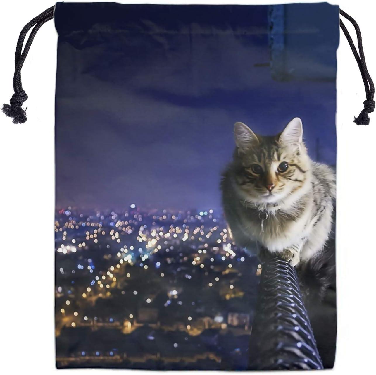 Cat Ranking TOP18 Drawstring Storage Bag Special sale item Gym - Gymnastics Bags Grip for Girls