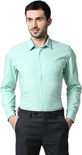 Peter England Men's Printed Slim Fit Formal Shirt