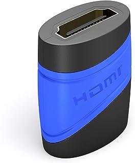 KabelDirekt – HDMI-adapter (hona till hona, kompatibel med HDMI 2.0a/b, 2.0, 1.4a, 4K, 1080p, 3D, ARC, HDCP, höghastighet ...