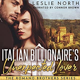 Italian Billionaire's Unexpected Lover audiobook cover art