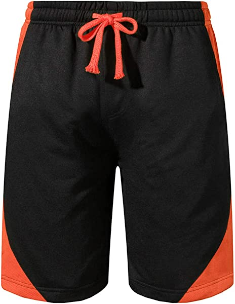 Cobcob Men S Loose Shorts Male Summer Short Trouser Quick Drying Patchwork Elastic Rope Sports Drawstring Beach Pants