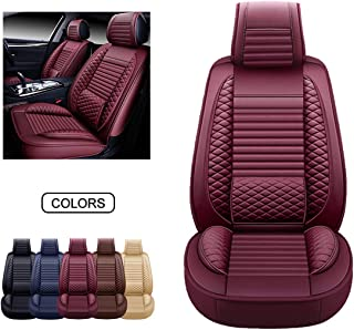 Boatee 2 PCS Front Car Seat Covers Set Universal Fit for Vehicle Sedan SUV Jeep Native American African Style Car Interior Protector Cover
