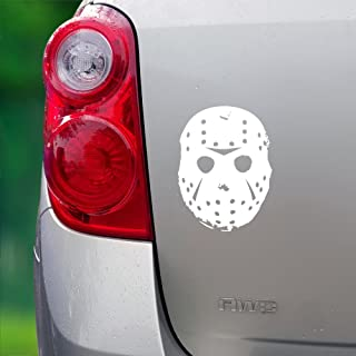 Jason Grunge Mask - Multi-Use Vinyl Decal (Cars/Laptop/Home) - 5 x 5 - by The Vinyl Initiative