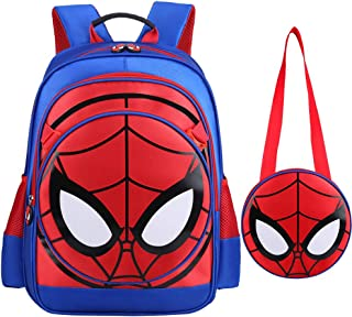 3D Spiderman Primary School Kids Backpack Kindergarten Backpacks Daypack