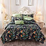 BH-JJSMGS Bettwäsche vierteilige Baumwolle, Doppelbett Einzelbettbezug, JH, 150 * 200cm