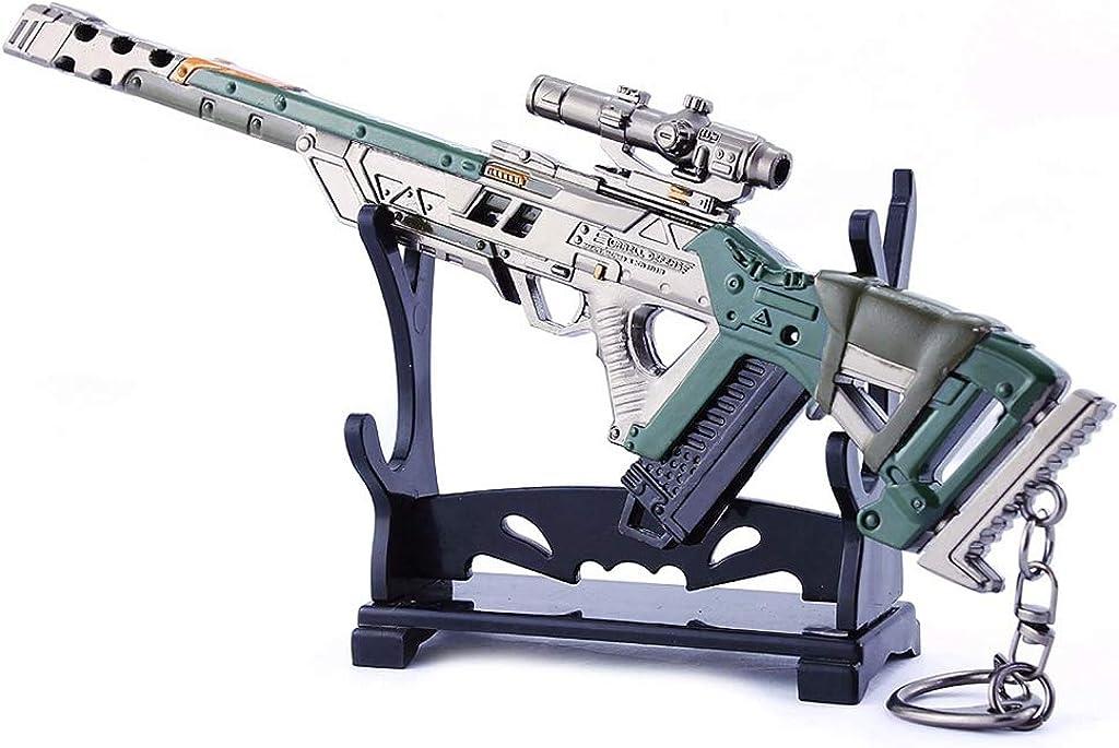 QISUO Triple Take Sniper Rifle Gun Toy Weapon depot Gaming Max 88% OFF Metal Model