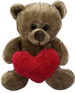 Chaveiro Urso Azul Coração - Pelúcia