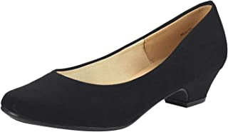 Women's Mila Low Chunky Heel Pump Shoes