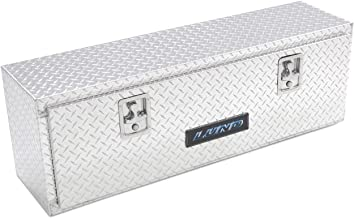 Lund 8160 60-Inch Aluminum Top Mount Truck Tool Box, Diamond Plated, Silver