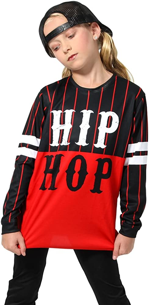 Alexandra Collection Womens Kansas City Mall Hip Hop Dance Long Product Sleeve Shirt