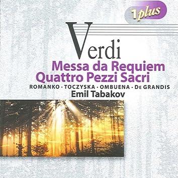 Verdi: Messa da Requiem - 4 Pezzi sacri