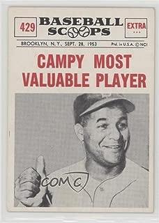 Roy Campanella (Baseball Card) 1961 Nu-Cards Baseball Scoops - [Base] #429