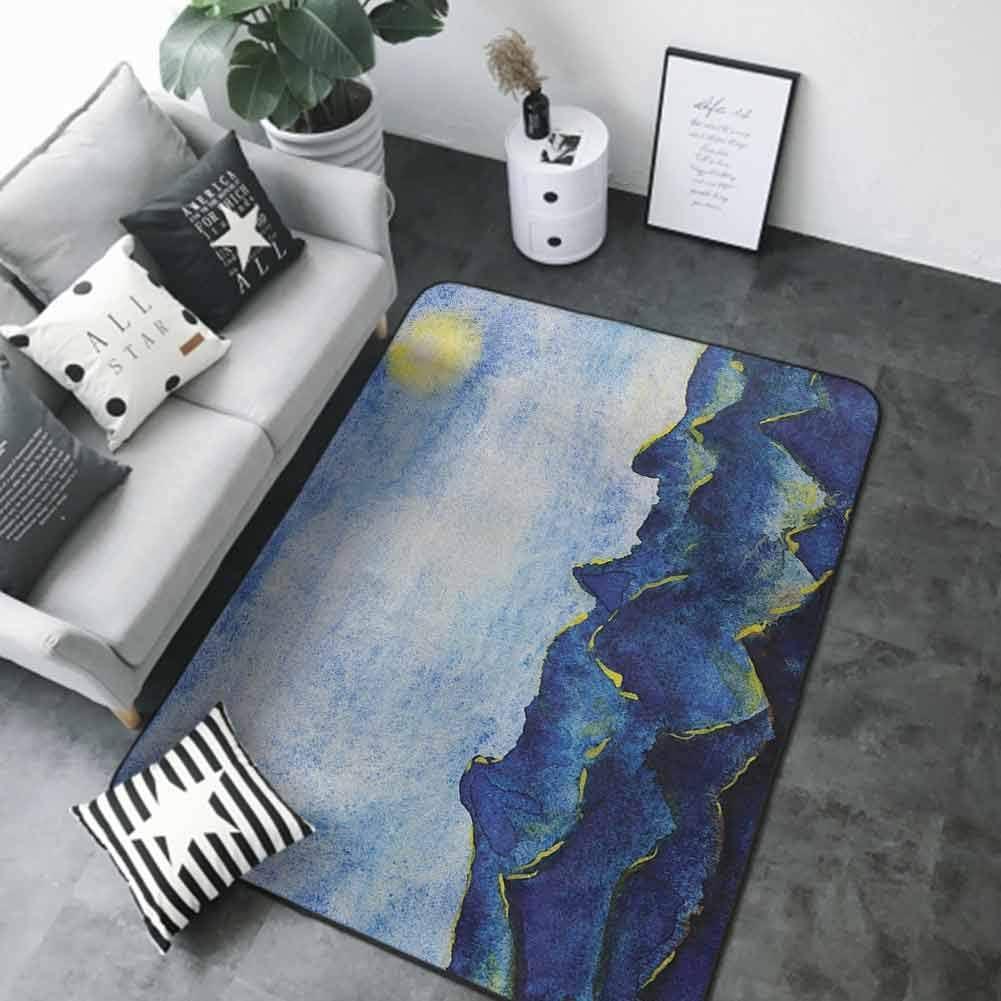 Printed Mats for Children OFFer Bedroom Cl Landscape Fairy Under Hills Los Angeles Mall