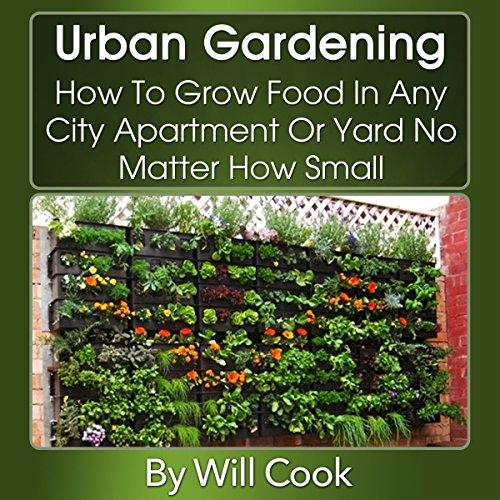 Urban Gardening audiobook cover art