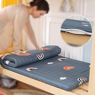 Mattress Topper, Futon Tatami Mattress, Thickness 6Cm Dormitory Foldable Mat, Student Japanese Double Single Ground Pad, R...