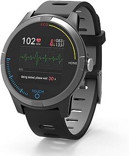 PRIXTON – Reloj Inteligente Smartwatch para Android e iOS con Electrocardiograma, Presión en Sangre, Pulsometro, Resistente a Salpicaduras, Pulsera de Actividad | SWB28 (Reacondicionado)
