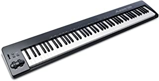 Alesis Q88 88-Key Velocity Sensitive USB/MIDI Keyboard Controller With Ableton Live Lite and Ignite Music Software