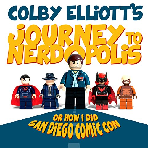 Journey to Nerdopolis audiobook cover art