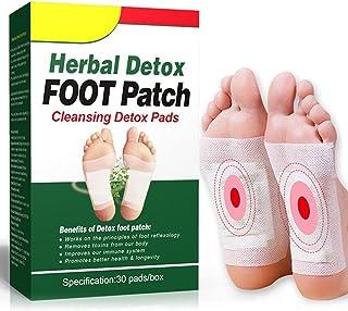 Tixiyu Detox Voetpleisters, 30 stuks voetpleisters, ontgifting voetpleisters, reiniging Detox voetpads voor gezondheid Ant...