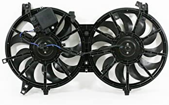 Dual Radiator and Condenser Fan Assembly - Cooling Direct For/Fit IN3115108 07-08 Infiniti G35 Sedan 08-13 G37 08-09 EX35 09-19 370z