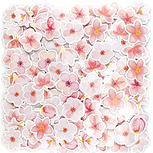 180 PCS Sakura Scrapbook Sticker, Mini Pink Cherry Blossom Petals DIY Dekoration Aufkleber für Scrapbooking, Bullet Journal, Album, Handyhülle, Laptop, Kartenherstellung