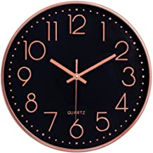 Best black and rose gold clock Reviews