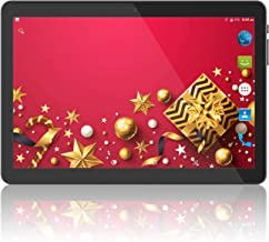 Tablet 10 inch Android 8.1 Go,3G Unlocked Phablet with Dual sim Card Slots and Cameras,Tablet PC with WiFi,Bluetooth,GPS (10 inch Android 8.1, Black)