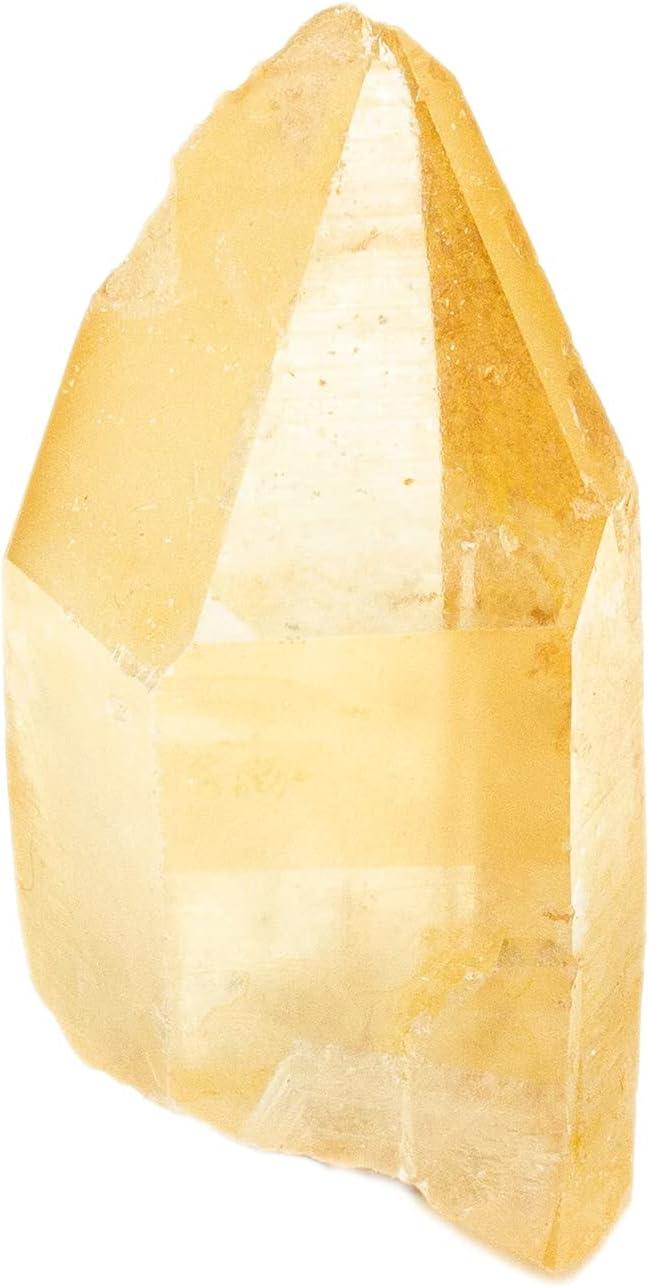 Translated Golden Healer Lemurian Miami Mall Seed Crystal