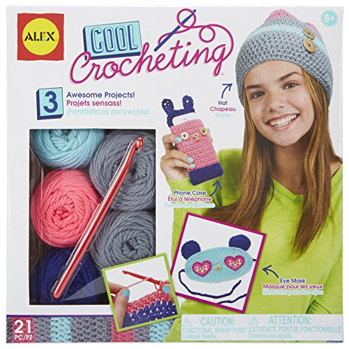 Alex Toys Craft Cool Crocheting Kit