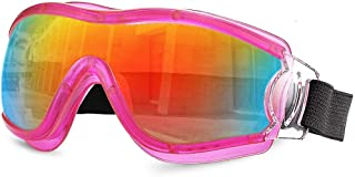 Fashion Sand and Dustproof Glasses, Waterproof, Water, Men and Women, Riding, Wind, Dust, Wind, Wind, Children Children's Goggles, Retro (Color : Black)