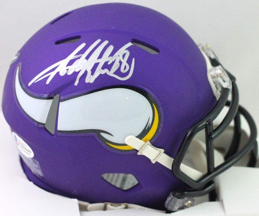 Adrian Peterson Autographed Minnesota Mini Speed Helmet- Superior Max 41% OFF Vikings