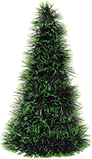 Nesee Shining Pop Up Tinsel Christmas Tree, Easy to Assemble and Store, for Small Spaces Apartment Fireplace Party Home Office Store Classroom Xmas Decorations