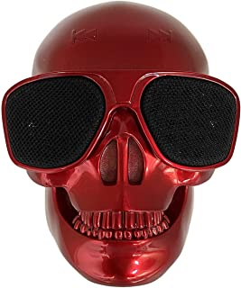 $29 » Skull Speaker Portable Bluetooth Wireless Speakers Retro Emoji Bass Stereo for PC/Laptop/Mobile Phone/MP3/MP4 Player for H...