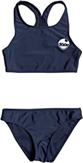 Roxy Early Conjunto de Bikini Crop Top para Chicas 8-16 Conjunto De Bikini Crop Top Niñas