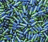 DR T&T 連体カプセル gelatine ゼラチン(空カプセル・ゼラチンフリー) 3号 ブルークリア/グリーンクリアカラー 10000個 EU製品