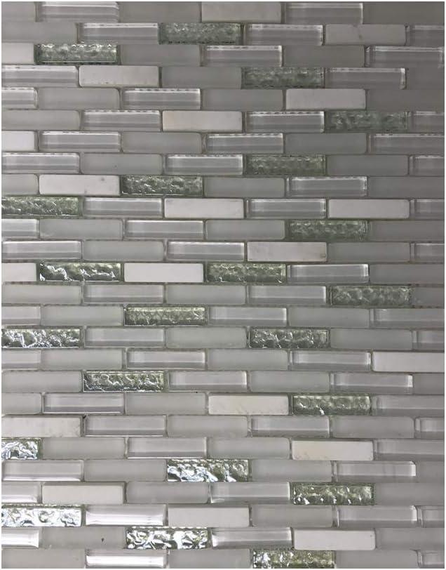 Fantastic Glass Under blast sales Tile 10 - Piece mm 8 11.2
