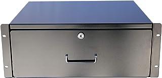 New 2U / 3U / 4U Drawer Rack Mount DJ 19'' Rack Case Equipment Deep Drawer Key Lockable (3U)