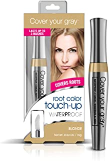 Cover Your Gray Waterproof Root Touch-Up, Light Brown/blonde, 0.53 Ounce