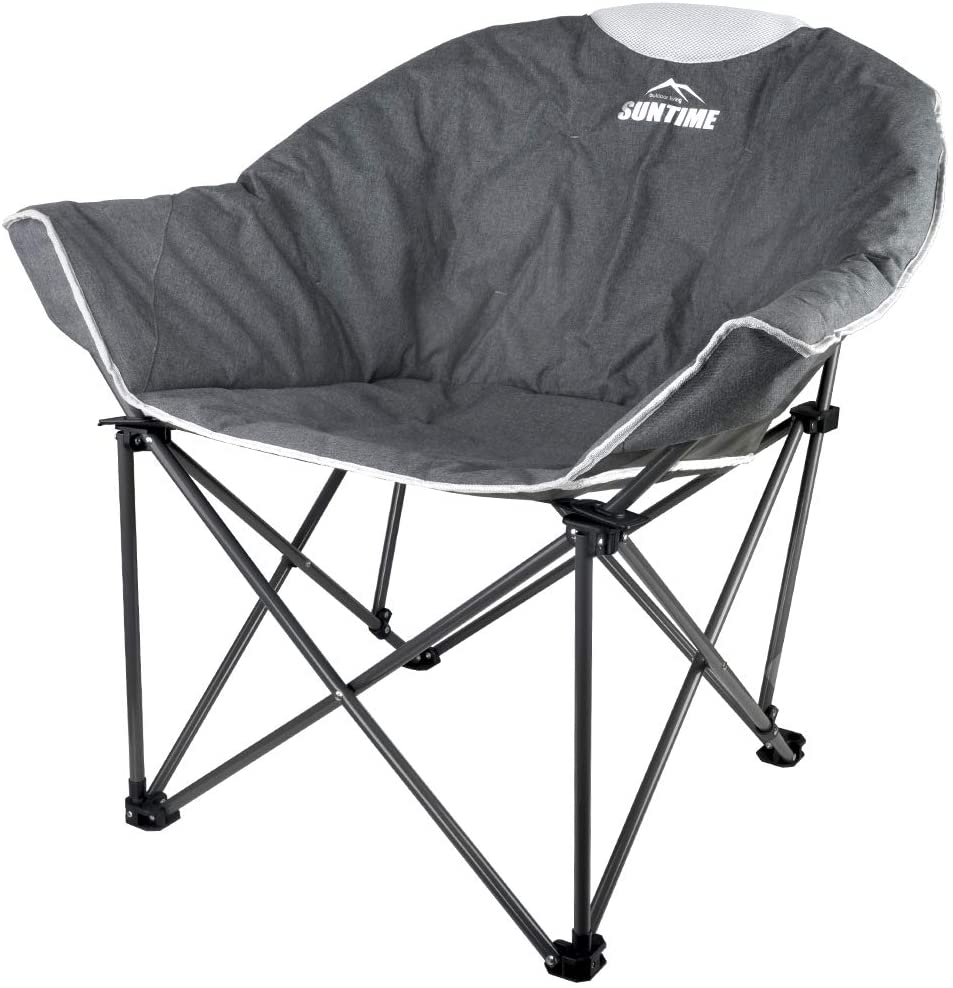 Suntime Sofa Chair 100% quality warranty! Oversize Padded Leisure Portable Stable Moon Topics on TV