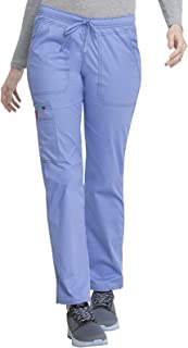 Dickies womens Low Rise Straight Leg Drawstring Pant Medical Scrubs Pants