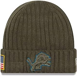 New Era Detroit Lions 2017 NFL Sideline Salute to Service Knit Hat