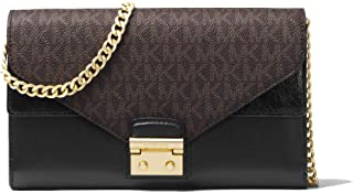 Best michael kors sloan logo and leather chain wallet Reviews