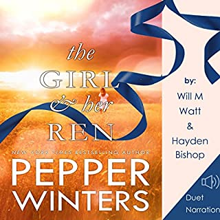 The Girl and Her Ren      Ribbon Duet, Book 2              By:                                                                                                                                 Pepper Winters                               Narrated by:                                                                                                                                 Hayden Bishop,                                                                                        Will M Watt                      Length: 18 hrs and 15 mins     209 ratings     Overall 4.8