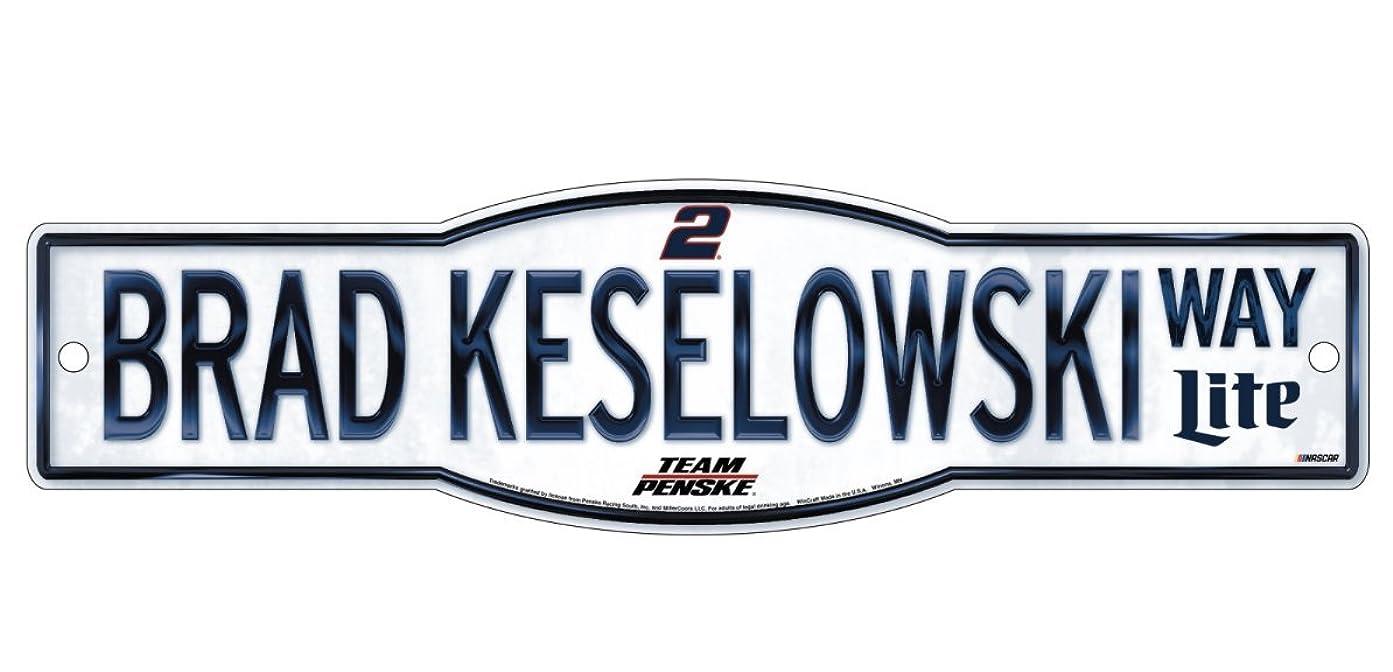 ひまわり管理しますファーザーファージュBrad Keselowski # 2?Street Sign 4?