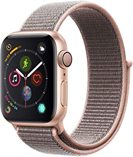 Apple Watch Series 4 (GPS, 40mm) Aluminio en Oro - Correa Loop Deportiva Rosa Arena