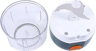 YARNOW Mini Electric Garlic Crusher Chopper Slicer Cordless Mini Food Processor Food Onions Pepper Slicer Wireless Meat Mi...