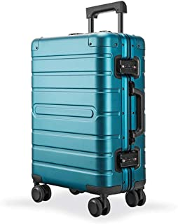 SMLCTY Trolley Case,carry On Luggage,carry On Luggage With Spinner Wheels,Practical And Beautiful Universal Wheel, Pull Box,20/24/28 Inch Full Aluminum Magnesium Alloy Universal Wheel Business Suitc