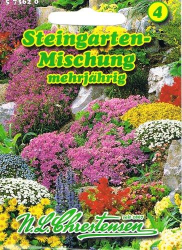 Steingarten Mischung mehrjährig Staude